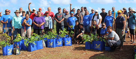 PAN Programs & Partners Collaborate on Reforestation Project